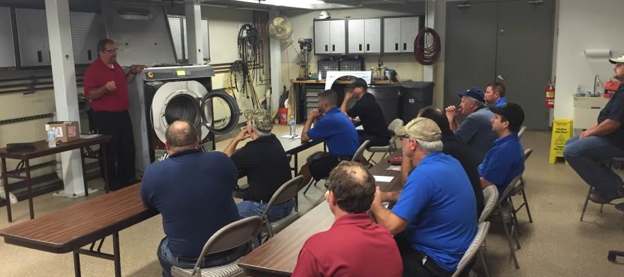 BDS Laundry Hosts a UniMac Service School