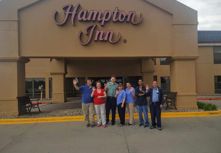 staff-at-hampton-inn-ames