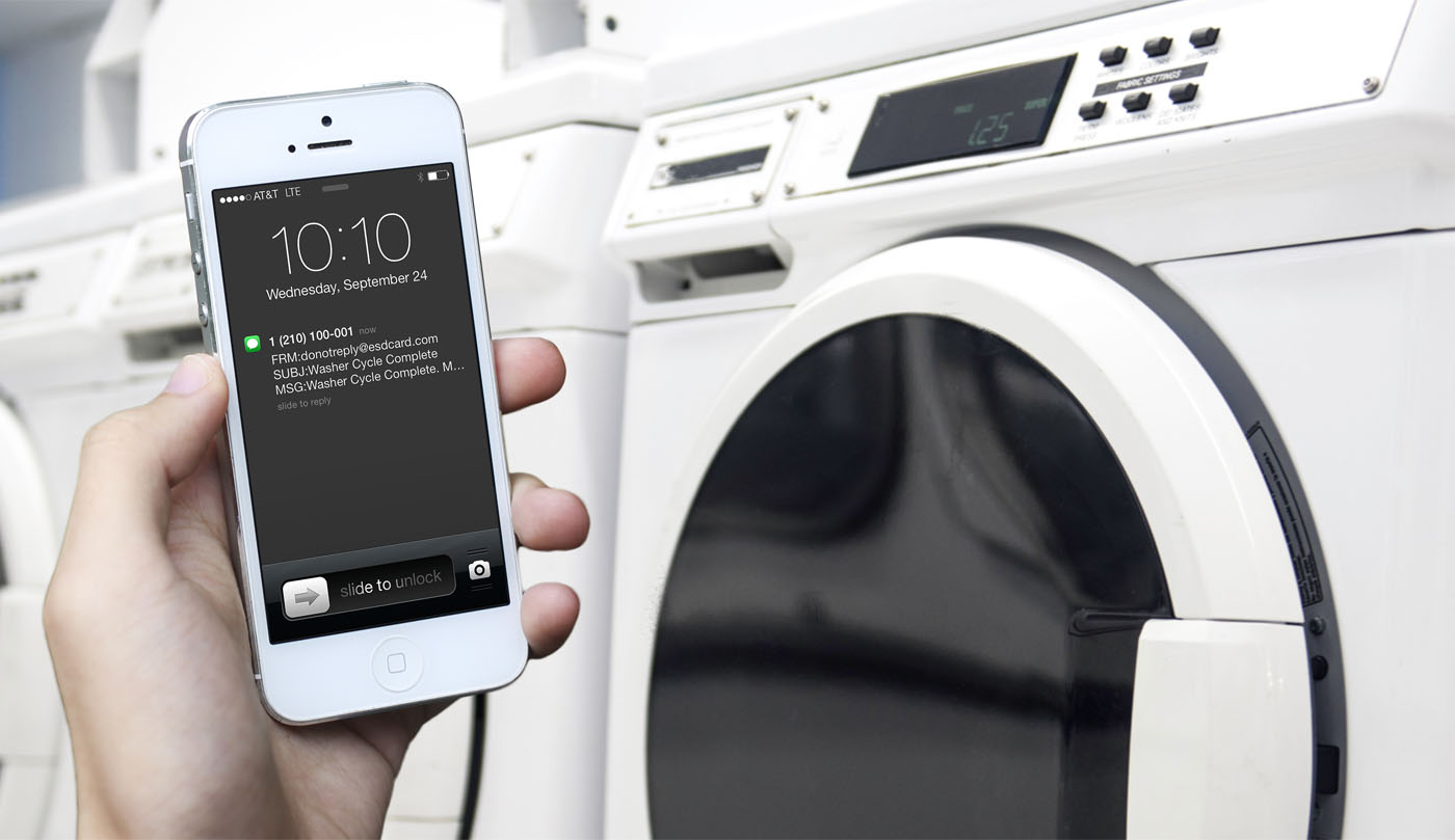 smart laundry machine